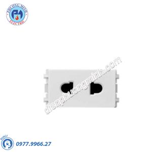 Ổ cắm đơn 2 chấu size S - Model 84426SUS_WE_G19