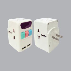 Ổ Cắm Du Lịch Đa Năng, 2 Cổng USB TA4