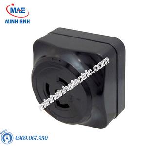 Ổ cắm gắn nổi màu đen 30A - 2P+Ground - 250VAC - Model WK2330