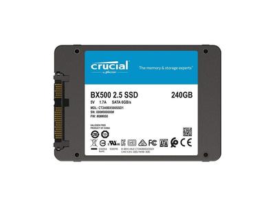 Ổ cứng laptop SSD Crucial BX500 3D NAND SATA III 2.5 inch 240GB CT240BX500SSD1