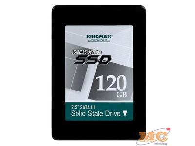 Ổ cứng laptop SSD kingmax 2.5'' SATAIII 120GB SME X Value Chính hãng NEW 100%