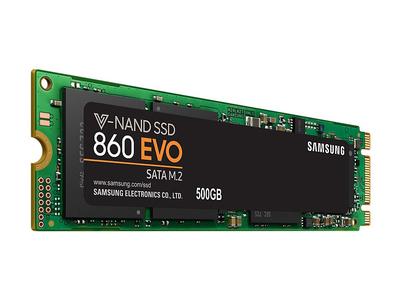 Ổ cứng laptop SSD Samsung 860 Evo 500GB M.2 2280 SATA III MZ-N6E500BW