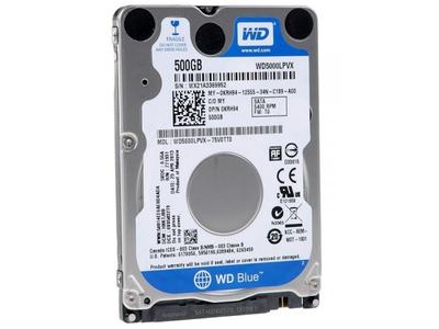 Ổ cứng MTXT Western Digital 500Gb SATA2 - HDD laptop 500Gb