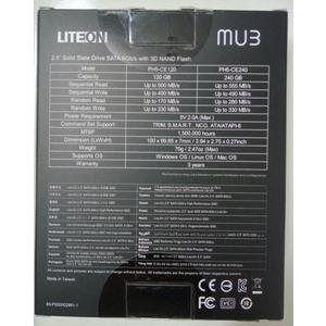 ổ cứng ssd 120gb liteon PH5-CE120