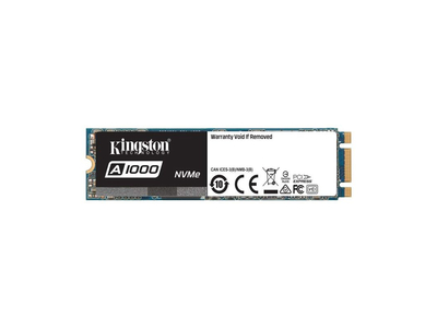 Ổ cứng SSD Kingston A1000 PCIe Gen3 x2 NVMe M.2 480GB SA1000M8/480G