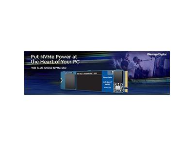 Ổ cứng SSD WD Blue SN550 500GB M.2 2280 NVMe Gen3 x4 (WDS500G2B0C)