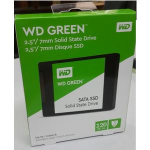 Ổ CỨNG SSD WESTERN DIGITAL 120GB GREEN WDS120G1G0A