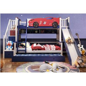 Giường tầng ô tô bé trai