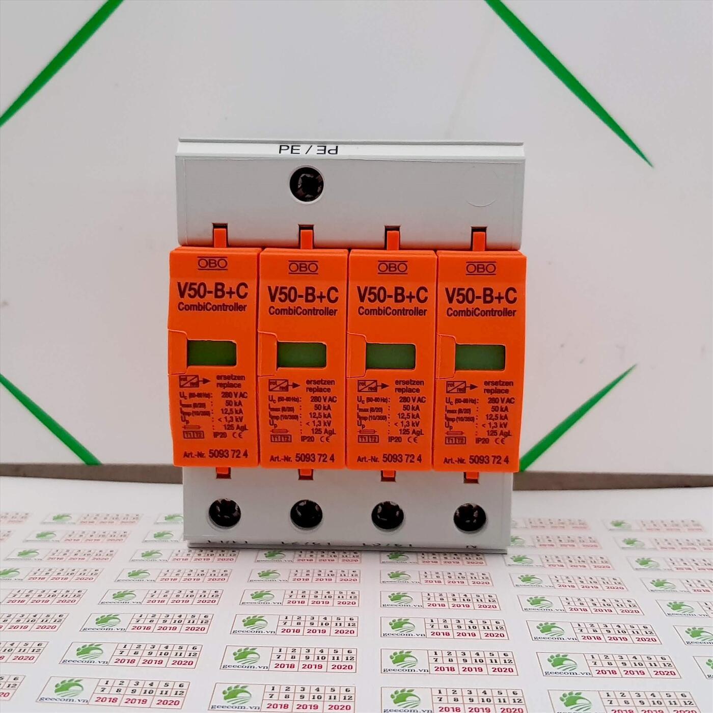 Chống sét lan truyền OBO V50-B+C4
