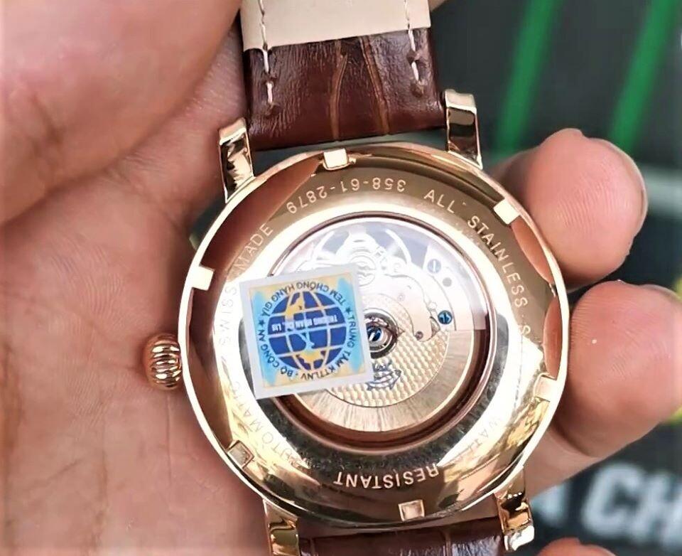 Đồng hồ nam Ogival OG358.61-2AGR-GL - Cá Nhảy Diamond