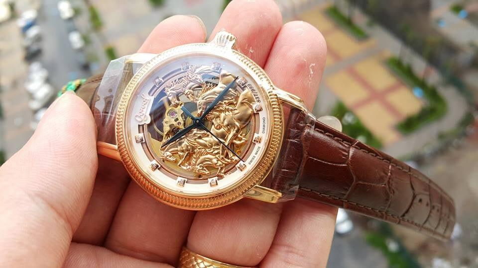 Đồng hồ Ogival OG358.88AGR-GL - Bát Mã Truy Phong