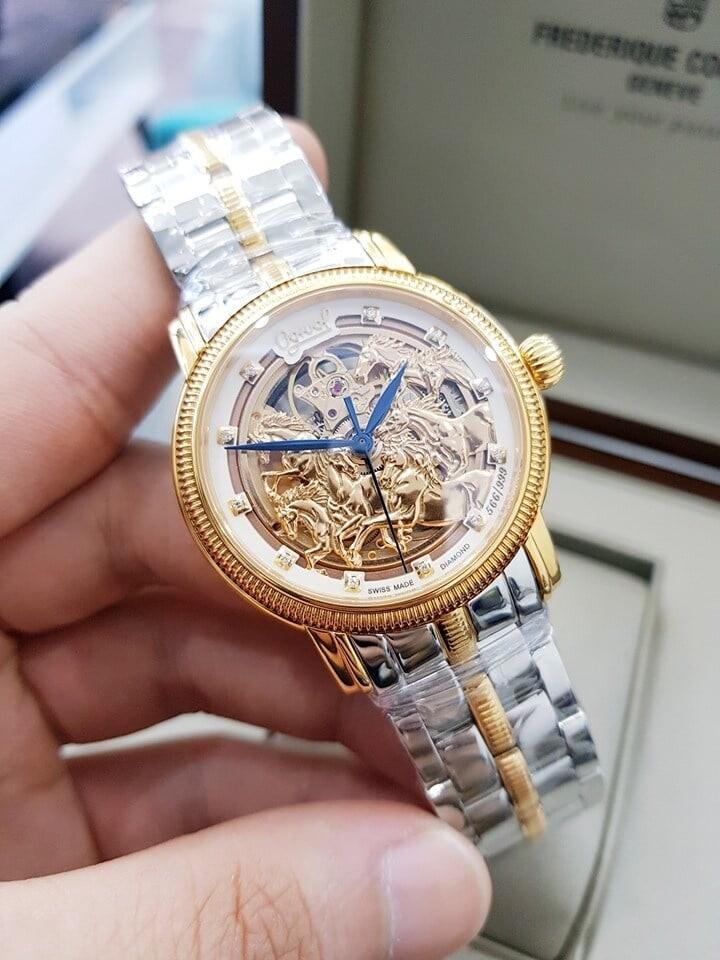 Đồng hồ Ogival OG358.88AGSR-T - Bát Mã Truy Phong