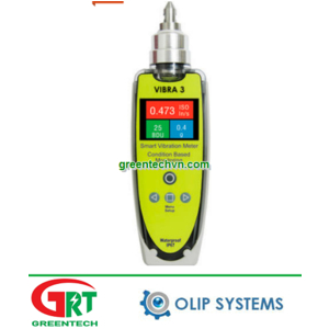 Olip Systems VIBRA 3 | Máy phân tích độ rung cầm tay Olip | Vibration analyzer VIBRA 3 | Olip