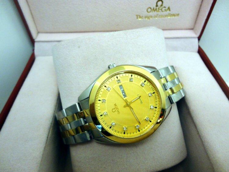 Đồng hồ nam Omega 2 lịch 0682M-SG9A