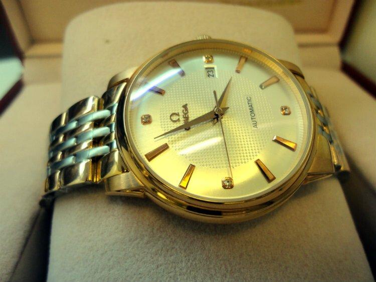 Đồng hồ nam tự động Omega Classic OM6386
