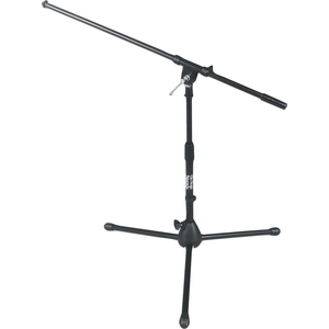 On-Stage MS7411B Telescoping Drum and Amplifier Microphone Boom Stand - Boom Length: 32