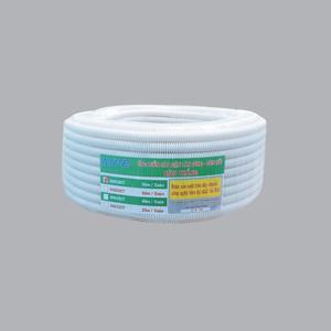 Ống luồn đàn hồi PVC màu trắng Ø16 A9016 CT