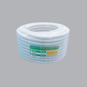 Ống luồn đàn hồi PVC màu trắng Ø25 A9025 CT