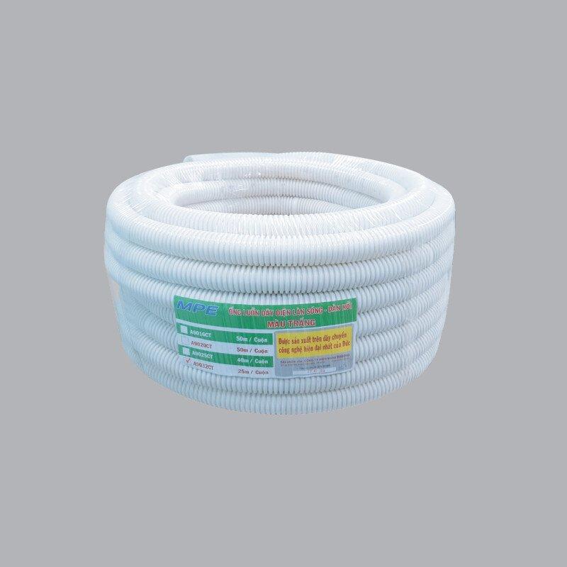 Ống luồn đàn hồi PVC màu trắng Ø32 A9032 CT