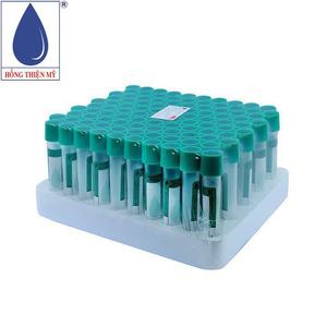 Ống nghiệm Citrate 3,8% HTM 2ml (nắp xanh lá, mous thấp)