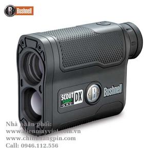 Ống nhòm đo khoảng cách Bushnell Scout DX 1000 Laser Rangefinder (Matte Black) 202355