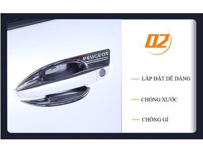 Ốp Chống Xước Hõm Xe Peugeot 3008 All New Peugeot 5008