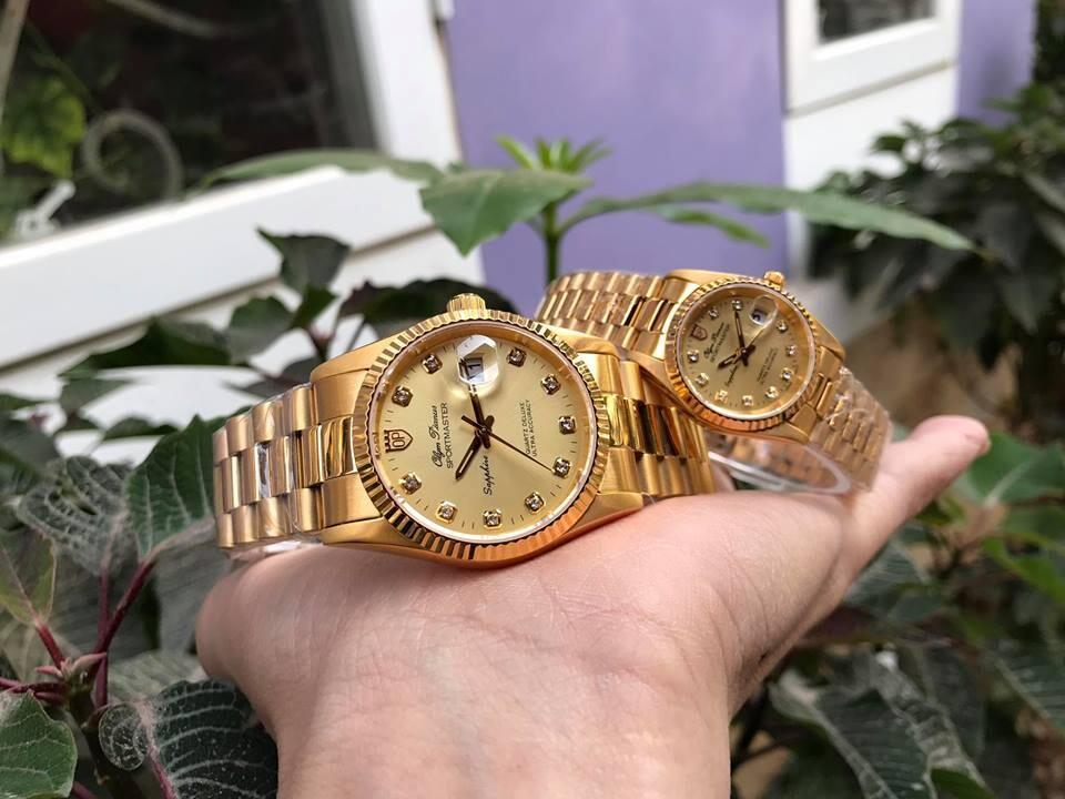 Đồng hồ đôi olym pianus op89322k-v | op68322k-v chính hãng