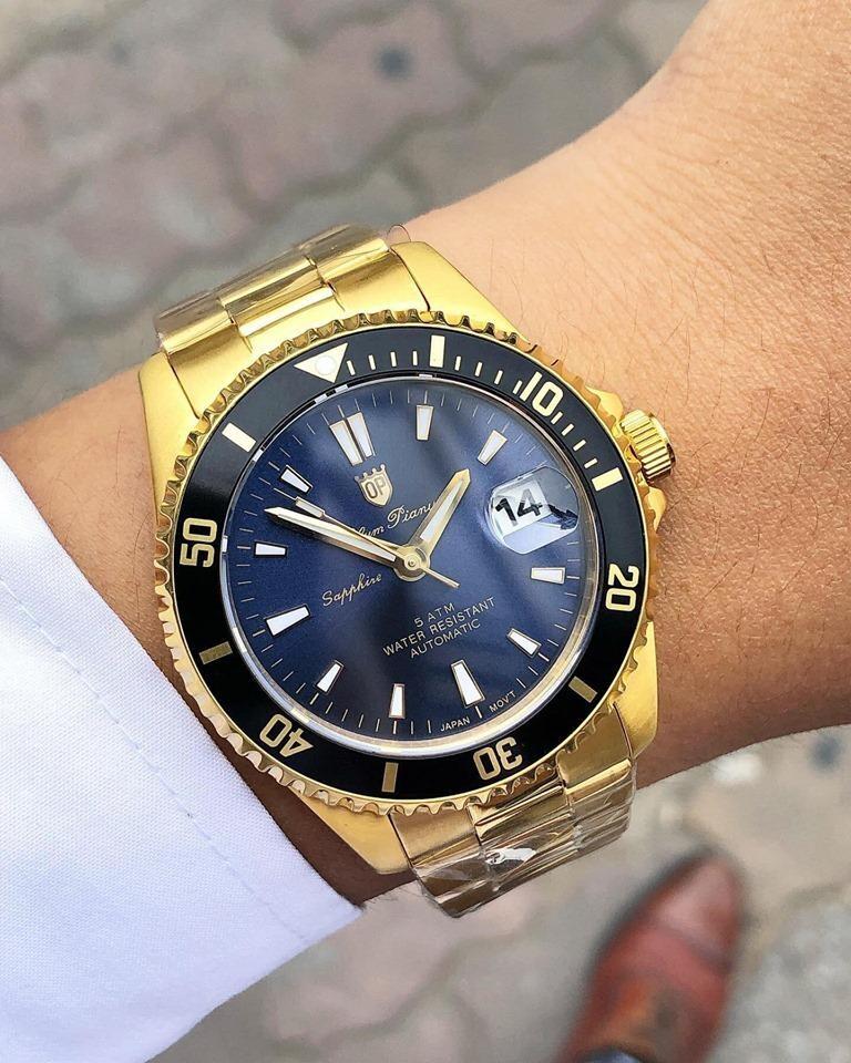 Đồng hồ nam Olym Pianus OP89983AMK-X