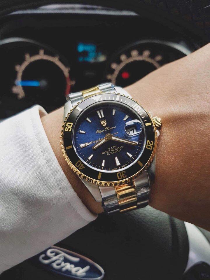 Đồng hồ nam Olym Pianus OP89983AMSK-X