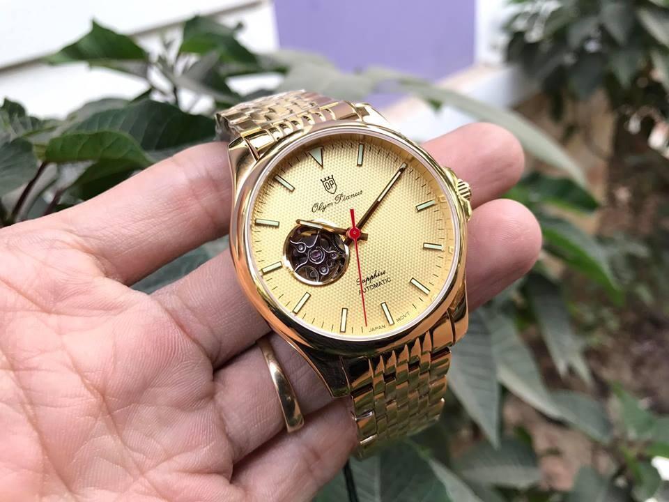 Đồng hồ nam Olym pianus Op990-092amk-v chính hãng