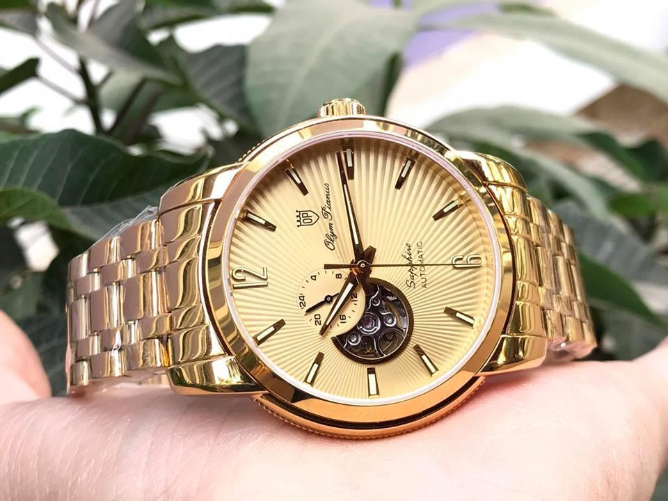Đồng hồ nam Olym Pianus Op990-133amk-v chính hãng