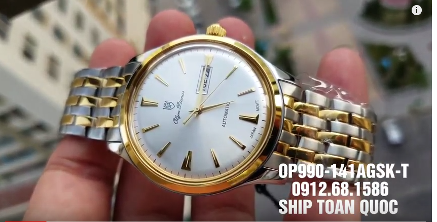 Đồng hồ Olym Pianus OP990-141AMSK-T (39mm)
