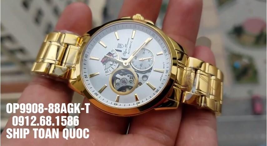 Đồng hồ Olym Pianus OP9908-881AGK-T