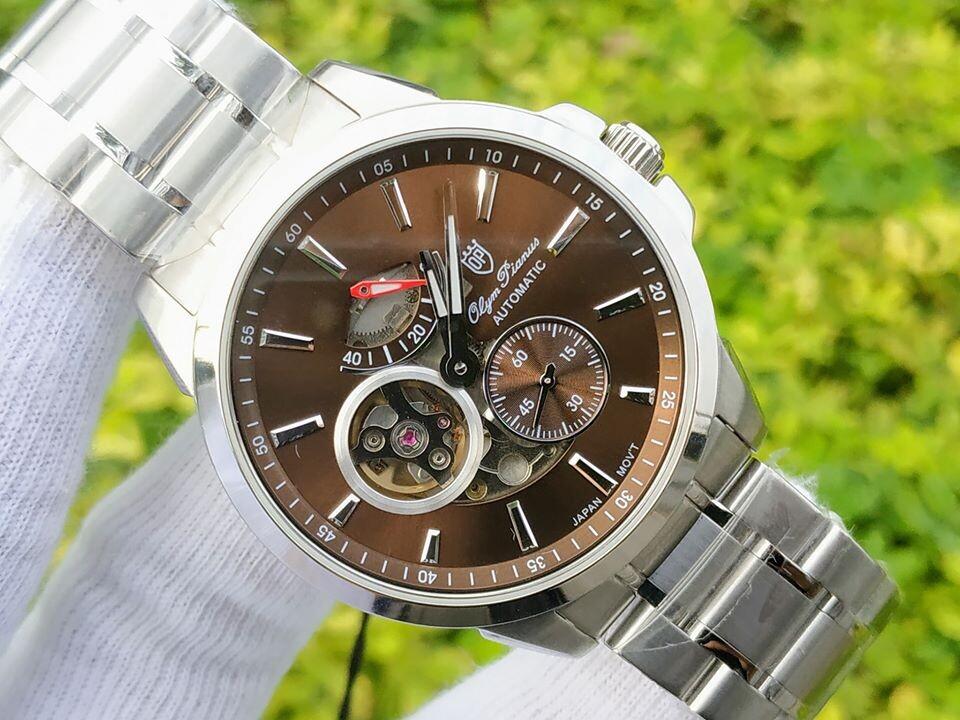 Đồng hồ nam Olym Pianus OP9908-881AGS-N