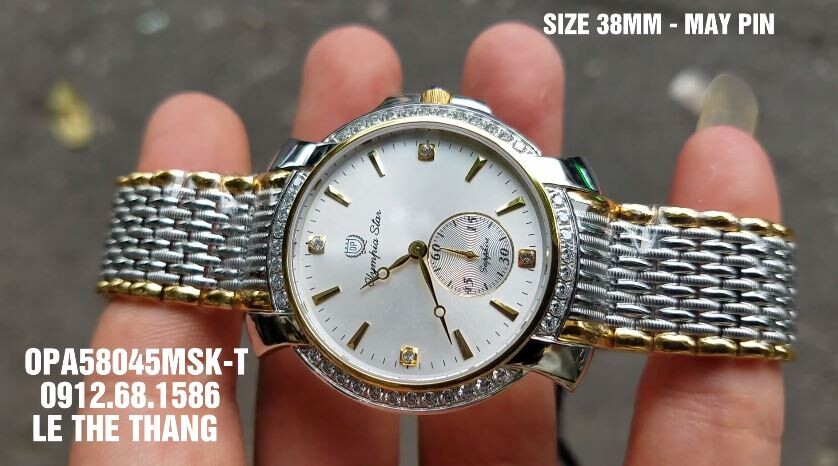 Đồng hồ Olympia Star OPA58045DMSK-T