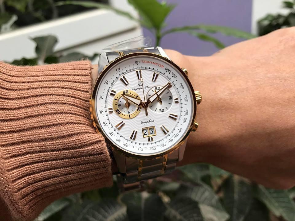 Đồng hồ nam Olympia star Opa589-01msk-t chính hãng
