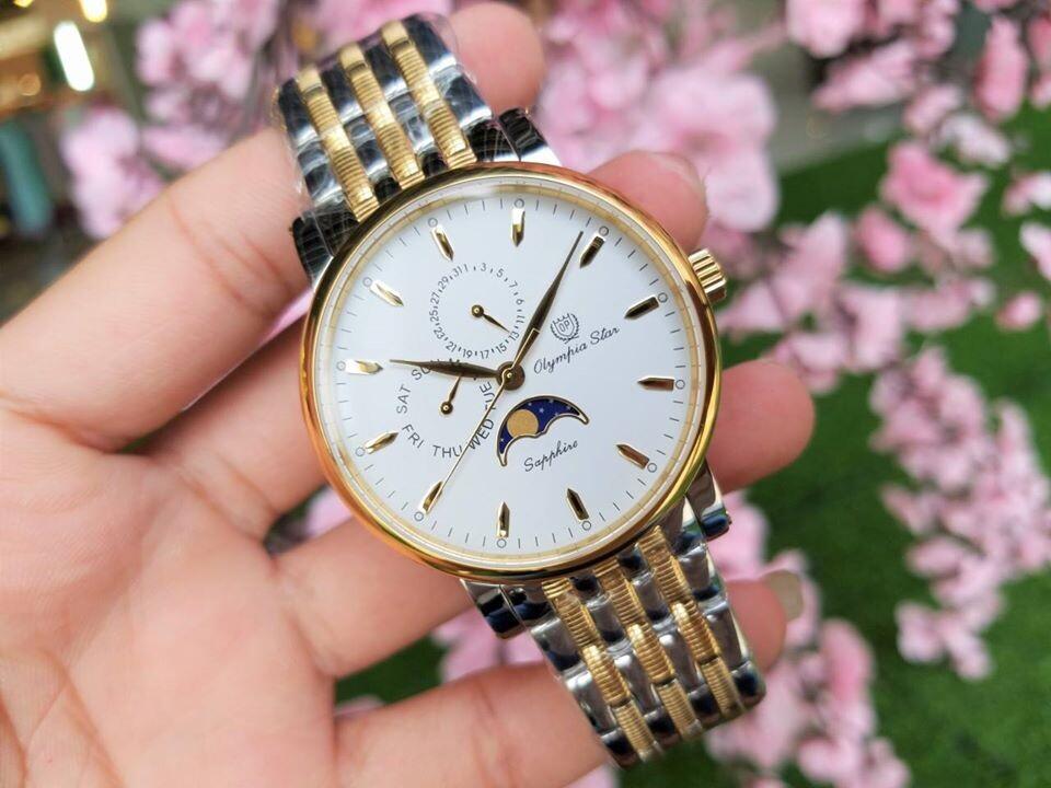 Đồng hồ nam Olympia Star OPA98023-21MSK-T