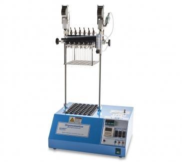 Hệ thống thổi khô mẫu bằng khí Nitơ (48 vị trí) + bình khí Nito
