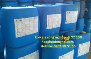 Oxy già công nghiệp (Hydrogen peroxide H2O2) 50%