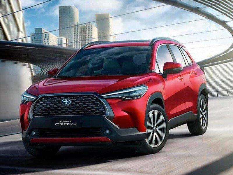 Toyota corolla Cross 2021 Nâng cấp