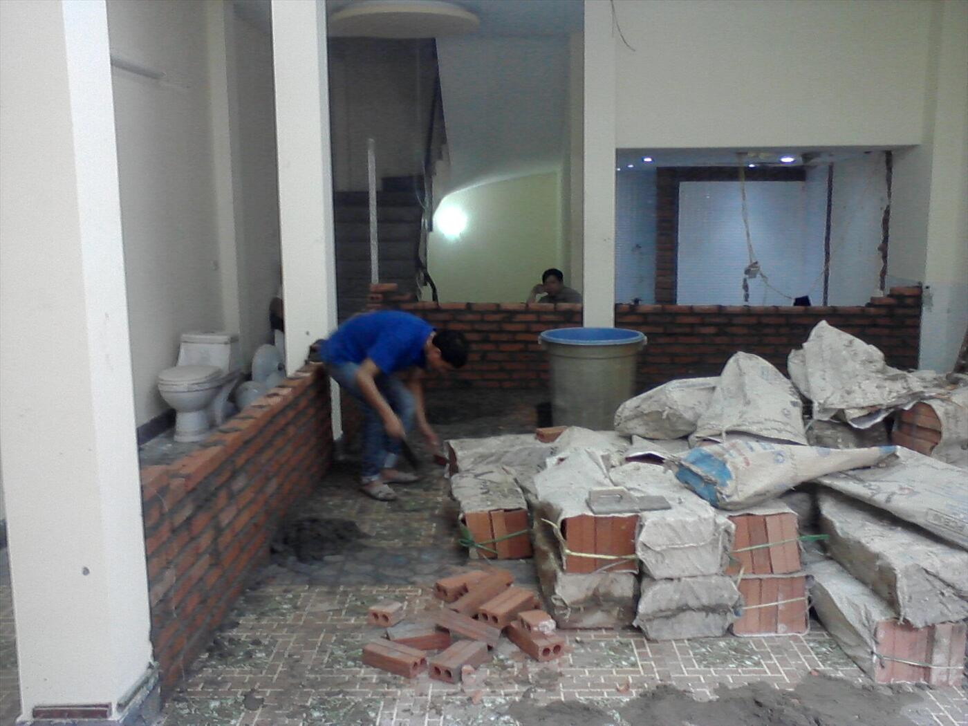 sửa chữa nhà phố