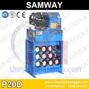 MÁY BẤM ỐNG THỦY LỰC SAMWAY P20D