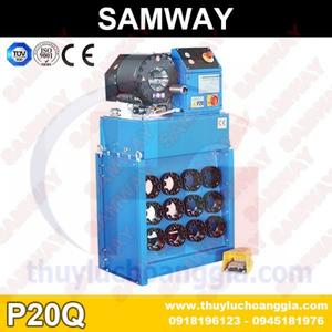 MÁY BẤM ỐNG THỦY LỰC SAMWAY P20Q