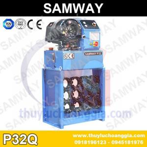 Máy Ép Dây Tuy Ô Thủy Lực SamWay P32Q
