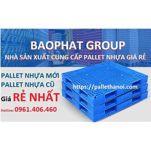 Pallet nhựa tải lớn KT 1200x1000x150 mm