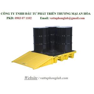 PALLET CHỐNG TRÀN CHO 4 THÙNG PHI MODEL:28635 & 28634