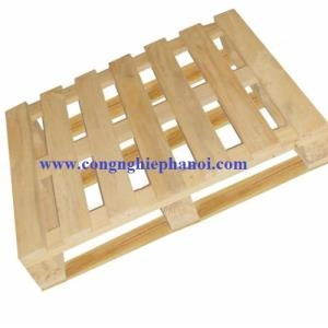 Pallet gỗ kt 1100x1100x150mm