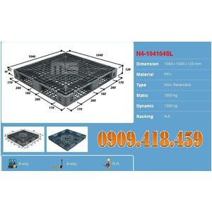 PALLET NHỰA 1040x1040x120mm