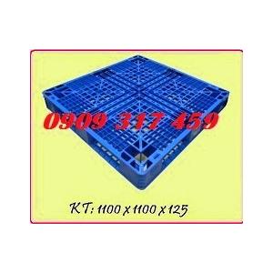 Pallet nhựa 1100x1100x125