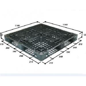 Pallet nhựa 1140*1140*120mm